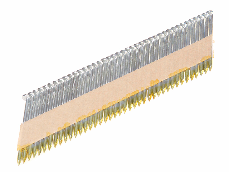 Thumbnail image of Tacwise 34° Galvanised Ring Nails 2.8 x 65mm (Pack 3300)