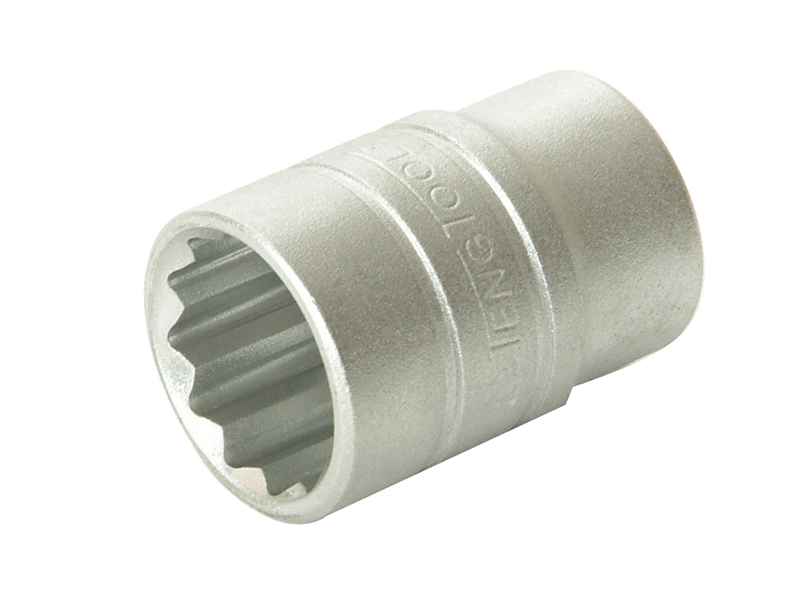 Thumbnail image of Teng Bi-Hexagon Socket 12-Point Regular A/F 1/2in Drive 5/8in