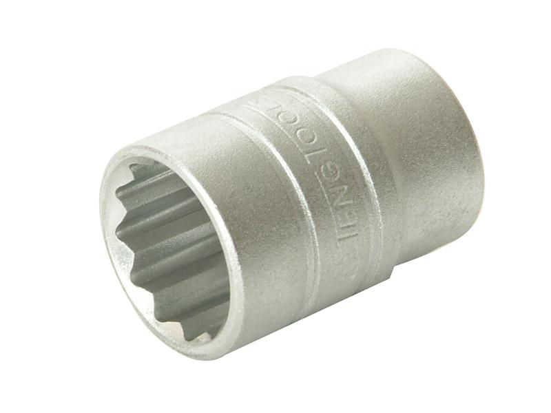 Thumbnail image of Teng Bi-Hexagon Socket 12-Point 1/2in Drive 8mm