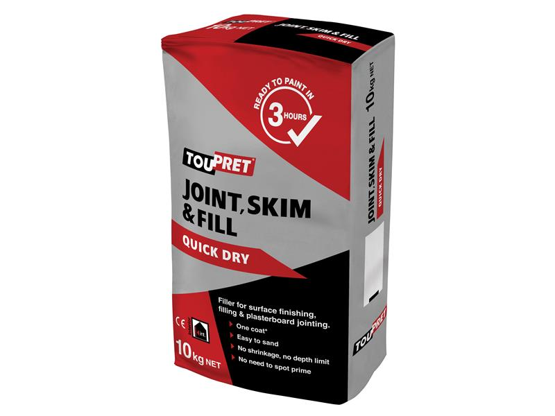 Thumbnail image of Toupret Quick Dry Joint Skim & Fill 10kg