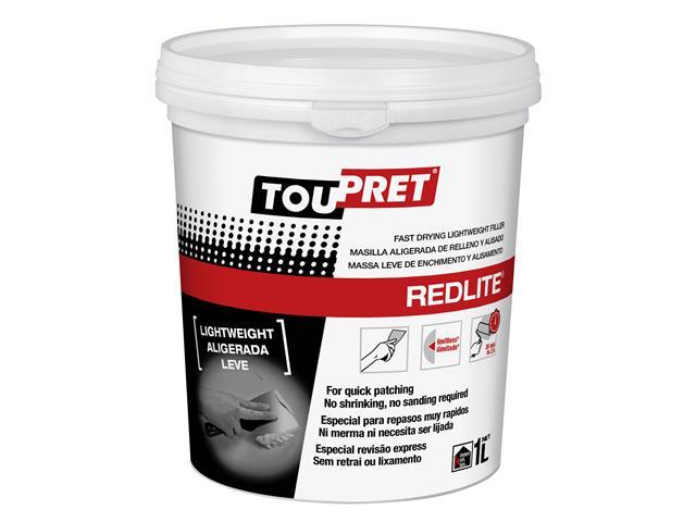Thumbnail image of Toupret REDLITE® Lightweight Filler 1kg