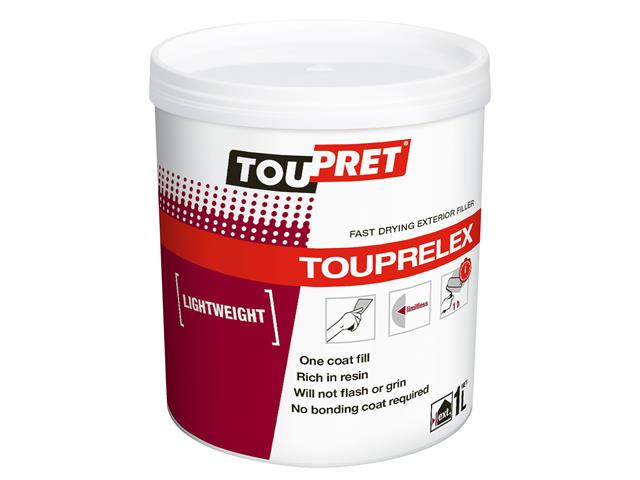 Thumbnail image of Toupret TOUPRELEX® Exterior Fast Drying Lightweight Filler 1kg