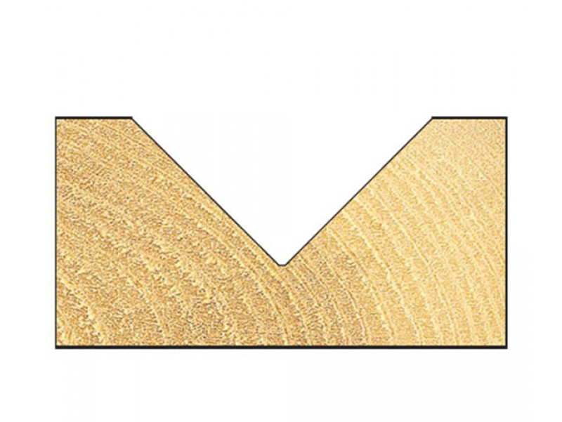 Thumbnail image of Trend 10/11 x 1/2 TCT V-Groove Chamfer 45° 19.0 x 38mm