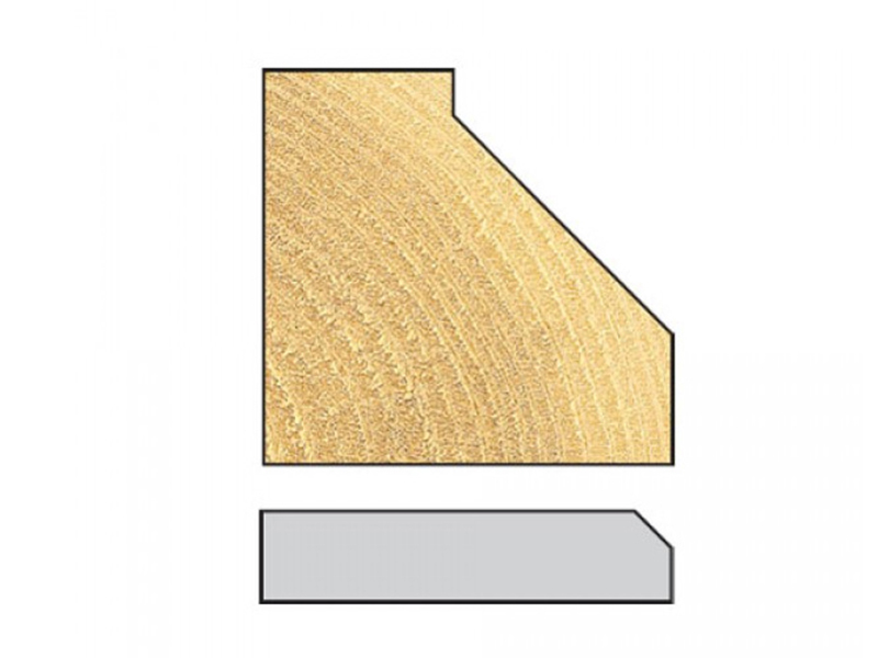 Thumbnail image of Trend 10H/1 x 1/4 TCT Pin Guided Chamfer / Bevel 45° 10 .0 x 14.0mm