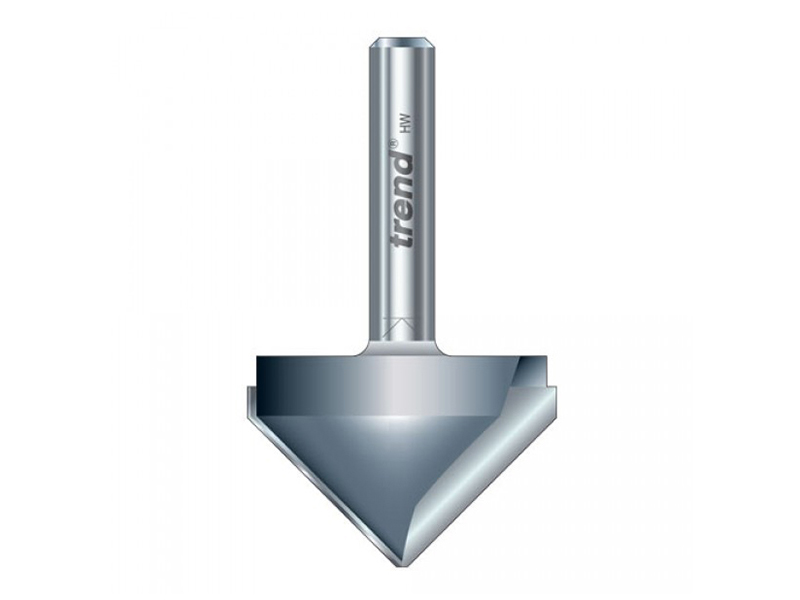 Thumbnail image of Trend 11/3 x 1/2 TCT V-Groove Cutter 45° 9.2 x 19.1mm