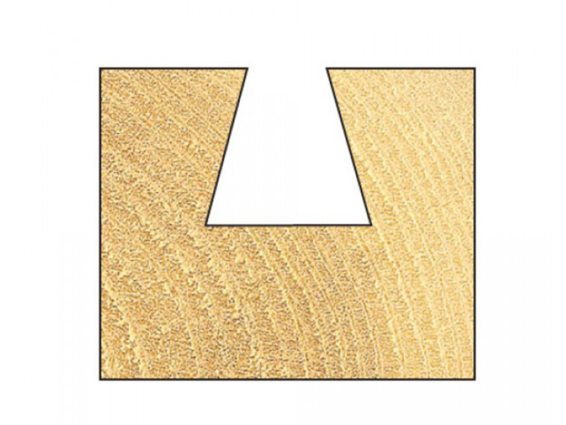 Thumbnail image of Trend 31/02 x 1/4 TCT Dovetail Cutter 103° 13.2 x 13mm