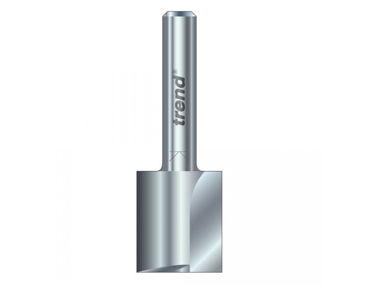 Thumbnail image of Trend 3/21 x 1/4 HSS Two Flute Cutter 6.3 x 28mm
