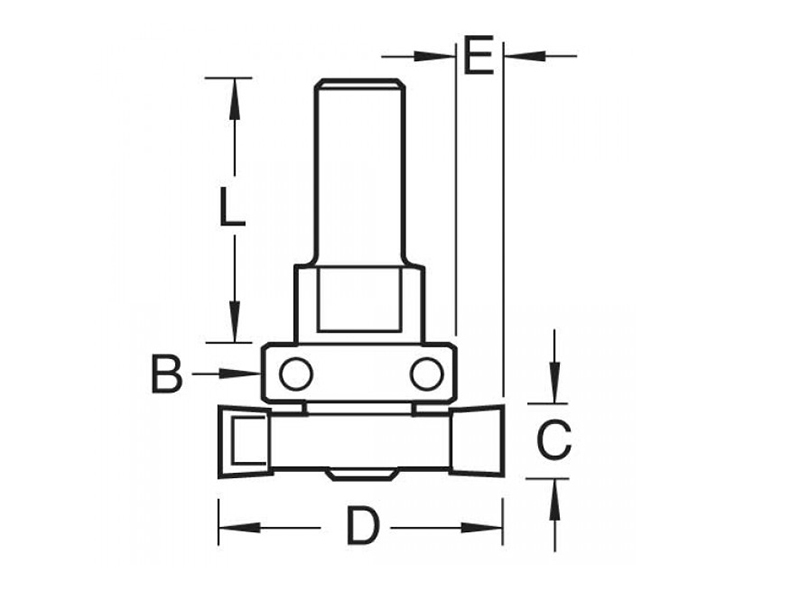 Thumbnail image of Trend 348 x 1/2in TCT Intumescent Cutter Set 15mm
