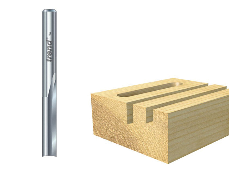 Thumbnail image of Trend S3/22 x 1/4 Solid Two Flute Cutter 6.3 x 25mm