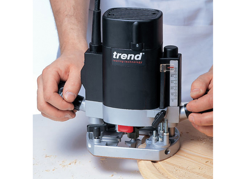 Thumbnail image of Trend T5EB 1/4in Variable Speed Router 1000W 240V
