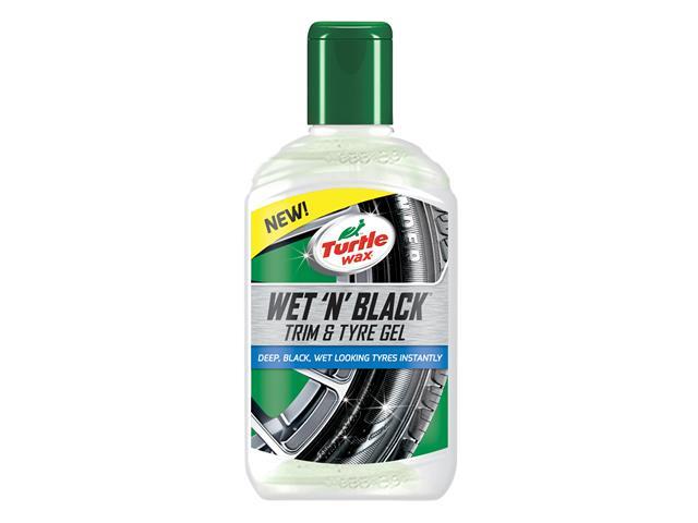 Thumbnail image of Turtle Wax Wet 'n' Black Trim & Tyre Gel 300ml