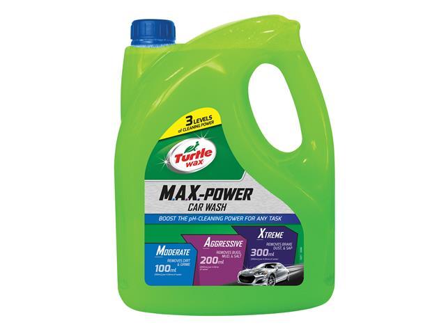 Thumbnail image of Turtle Wax M.A.X.-Power Car Wash Shampoo 4 litre