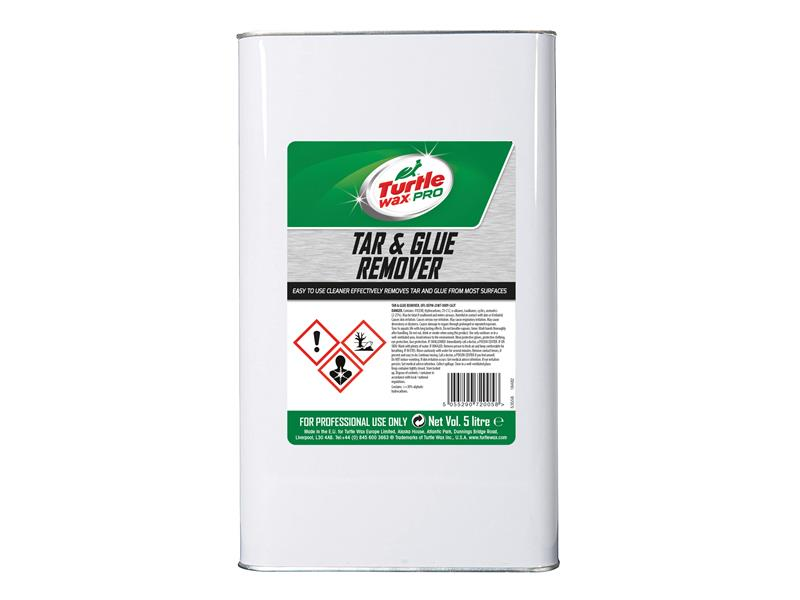Thumbnail image of Turtle Wax Professional Tar & Glue Remover 5 litre