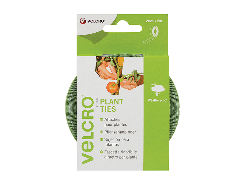 Thumbnail image of Velcro VELCRO® Brand ONE-WRAP® Plant Ties 12mm x 5m Green