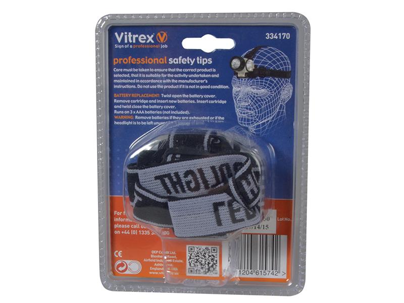 Thumbnail image of Vitrex 334170 Headlamp 12 LED