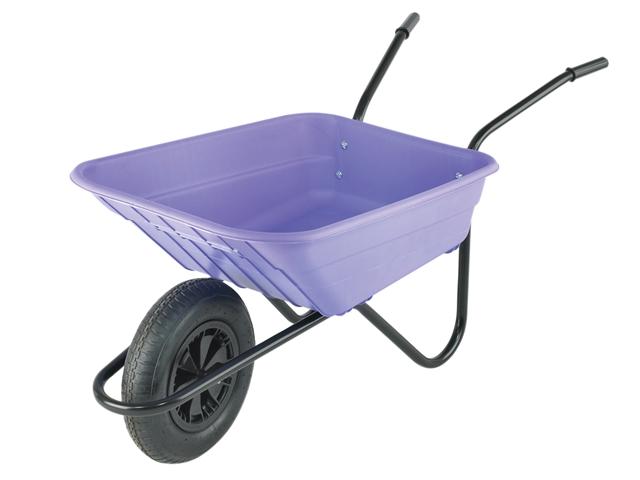 Thumbnail image of Walsall 90L Lilac Polypropylene Wheelbarrows