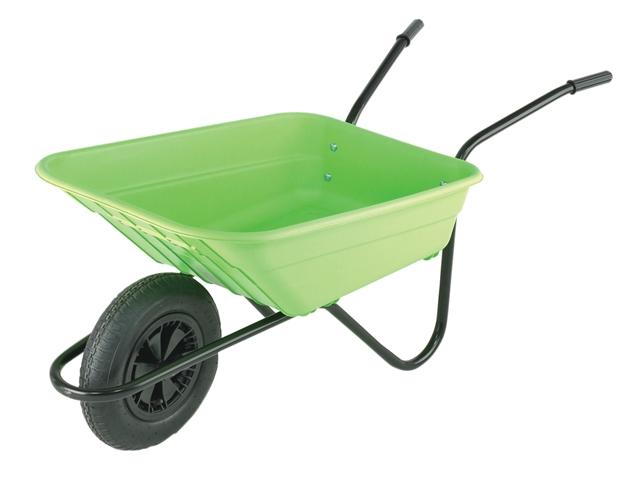 Thumbnail image of Walsall 90L Lime Polypropylene Wheelbarrows