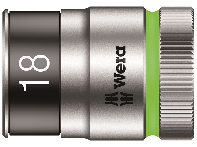 Thumbnail image of Wera 8790 HMC HF Zyklop Bolt Holding Socket 1/2in Drive x 18mm Hex