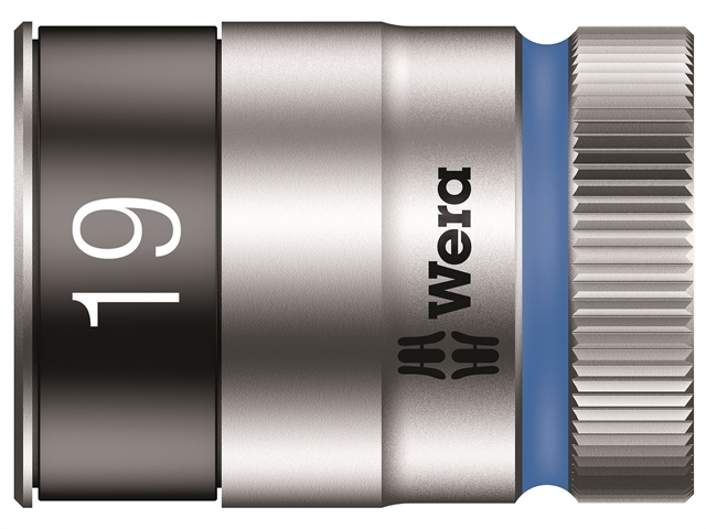 Thumbnail image of Wera 8790 HMC HF Zyklop Bolt Holding Socket 1/2in Drive x 19mm Hex