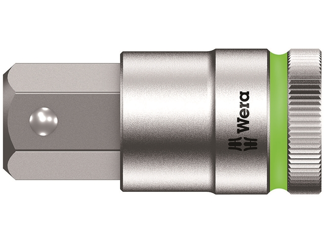 Thumbnail image of Wera 8740 C HF Zyklop In-Hex Plus Screw Hold Socket 1/2in Drive SW 19 x 60mm