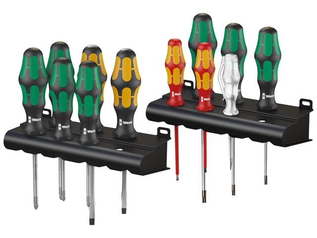 Thumbnail image of Wera Kraftform Plus XXL 2 Artisan Screwdriver Set, 12 Piece