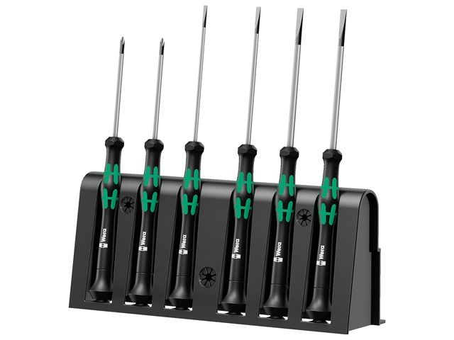 Thumbnail image of Wera Kraftform 2035/6 Micro Screwdriver Set, 6 Piece