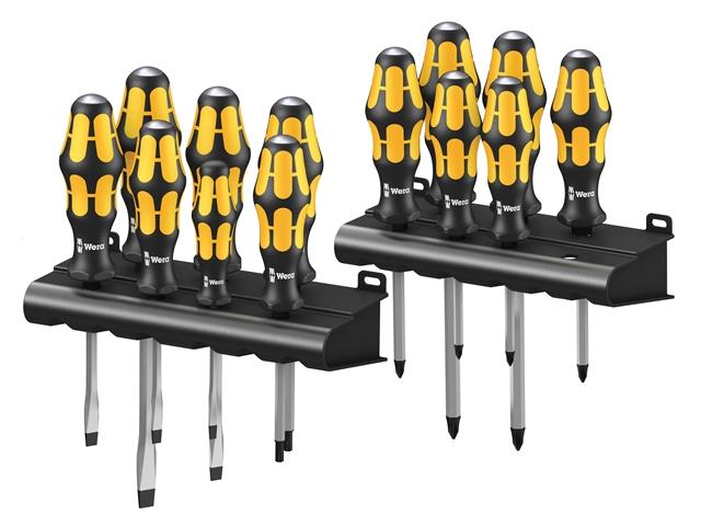 Thumbnail image of Wera Big Pack Kraftform Chiseldriver 900 Series Set, 13 Piece SL/PH/PZ/TX