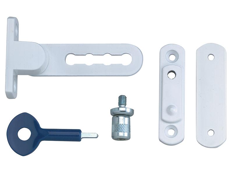 Thumbnail image of Yale P117 Ventilation Window Lock White Finish Pack of 2