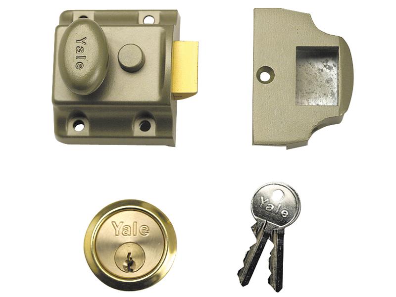 Thumbnail image of Yale 723 Deadlatch 40mm Backset ENB Finish Box