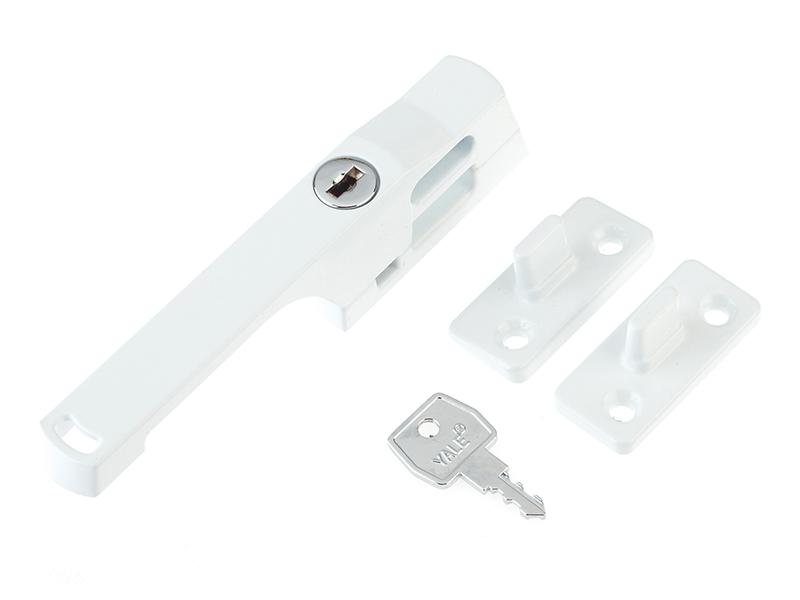 Thumbnail image of Yale P115WE Lockable Window Handle White Finish
