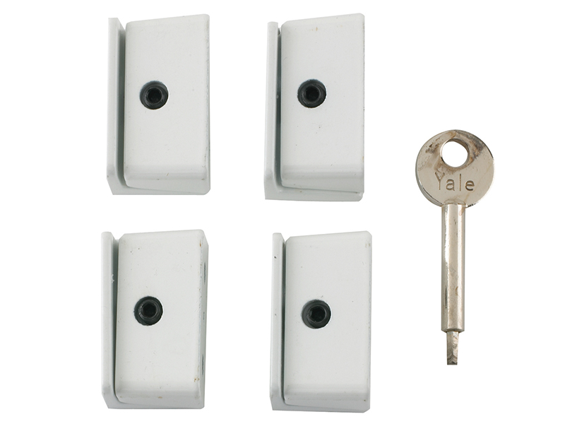 Thumbnail image of Yale 8K109 Window Stop White Pack of 4 Visi