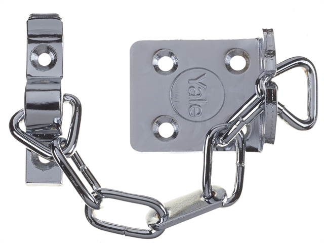 Thumbnail image of Yale WS6 Security Door Chain - Chrome Finish