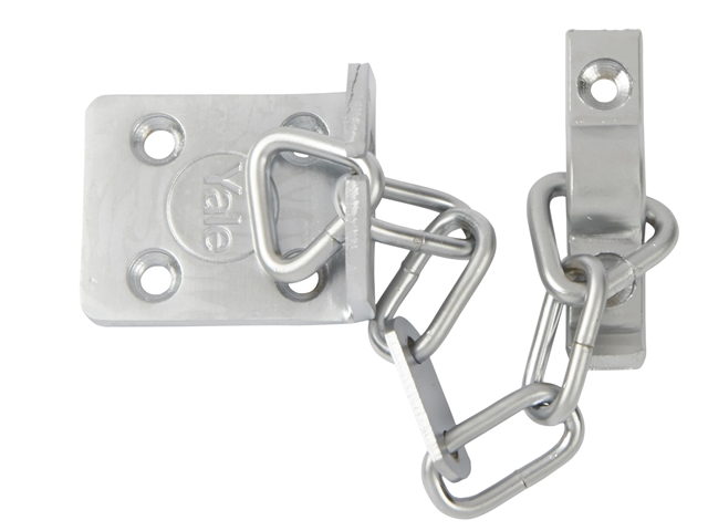 Thumbnail image of Yale WS6 Security Door Chain - Satin Chrome Finish