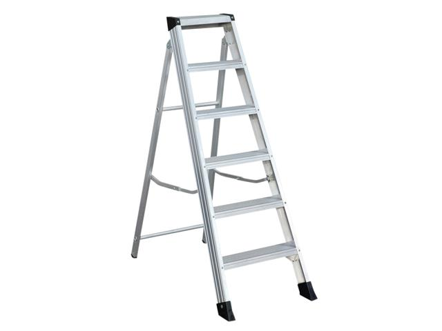 Thumbnail image of Zarges EN 131 Professional Swingback Steps, Open 1.06m Closed 1.22m 5 Rungs