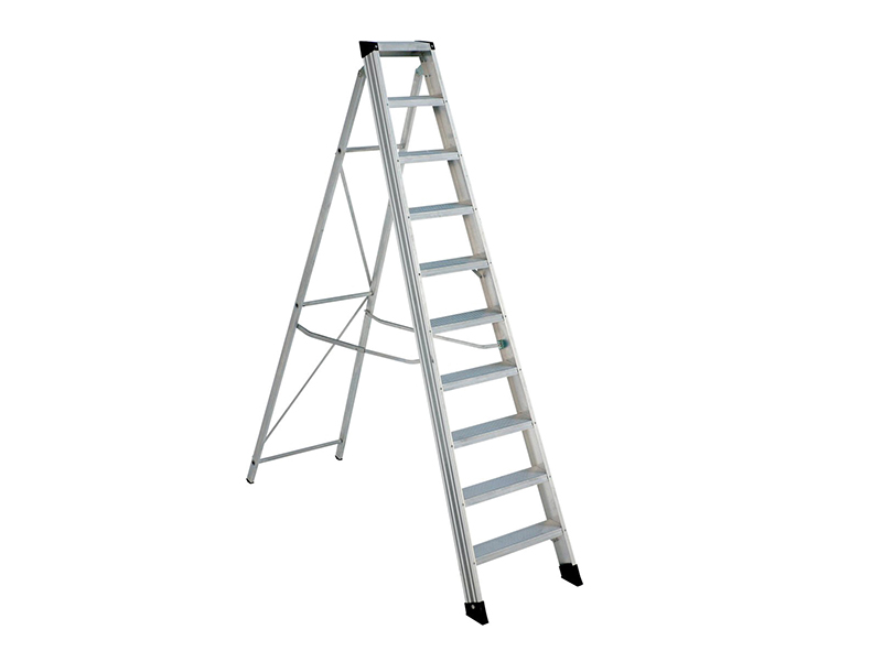 Thumbnail image of Zarges EN131 Professional Swingback Steps, Open 1.69m Closed 1.91m 8 Rungs
