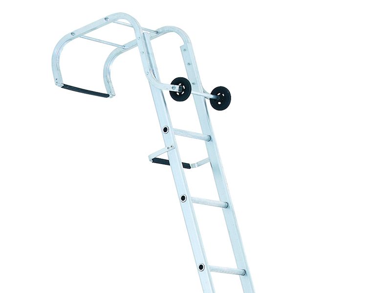 Thumbnail image of Zarges Industrial Roof Ladder 1-Part 15 Rungs 4.95m