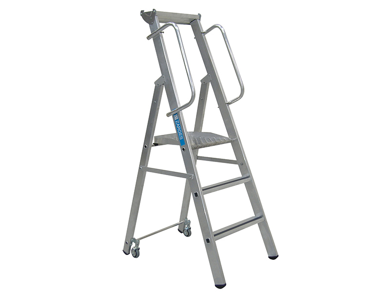 Thumbnail image of Zarges Mobile Mastersteps, Platform Height 0.78m 3 Rungs