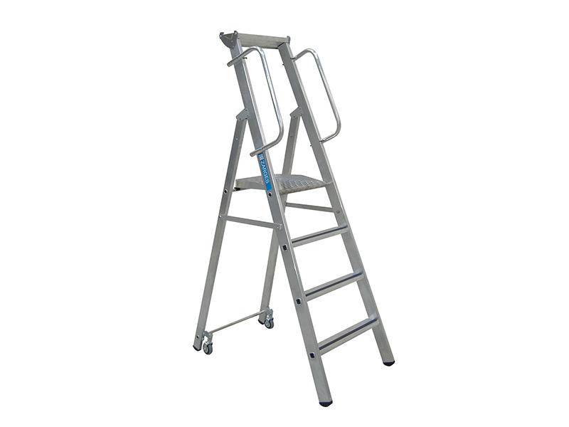 Thumbnail image of Zarges Mobile Mastersteps, Platform Height 1.58m 6 Rungs