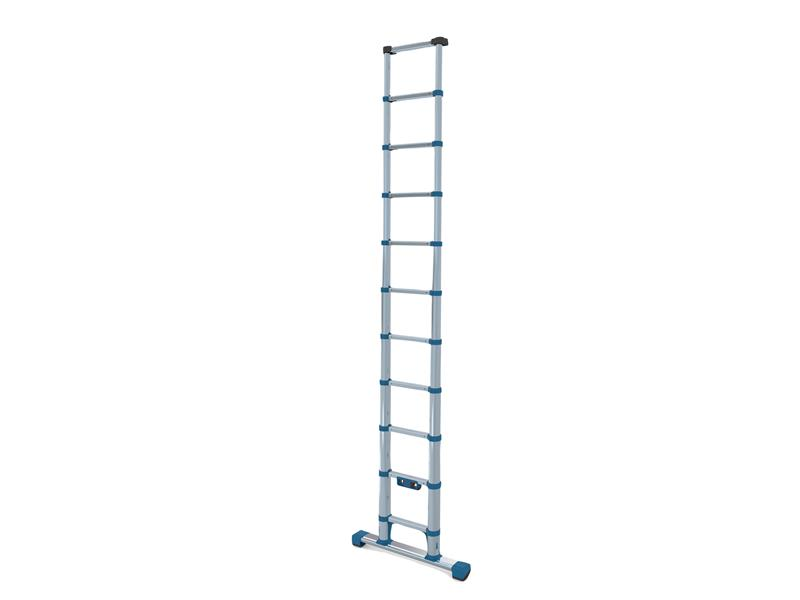 Thumbnail image of Zarges Compactstep L Telescopic Ladder & Stabiliser Bar 3.2m