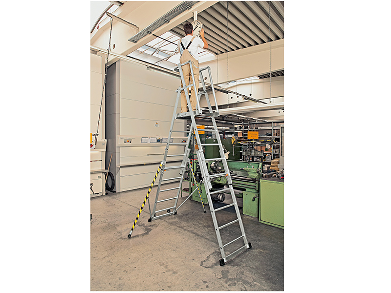 Thumbnail image of Zarges ZAP 2 Access Platform, Platform Height 1.3/1.6/1.8/2.1/2.4m 5-9 Rungs