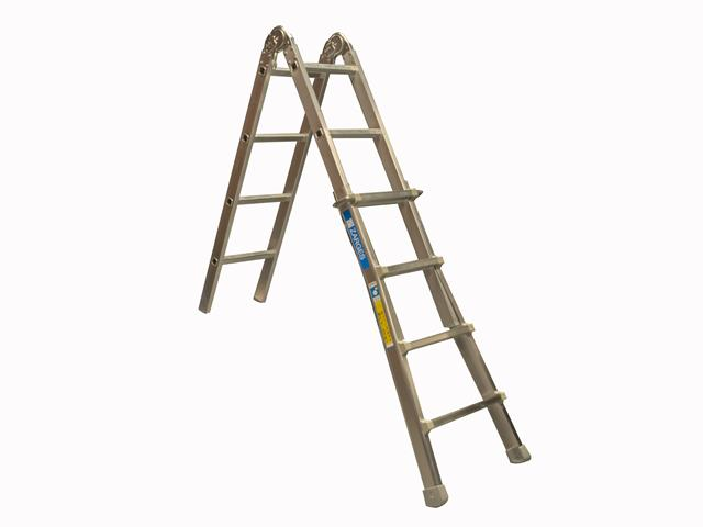 Thumbnail image of Zarges Industrial Telescopic Combination Ladder 4 x 5 Rungs