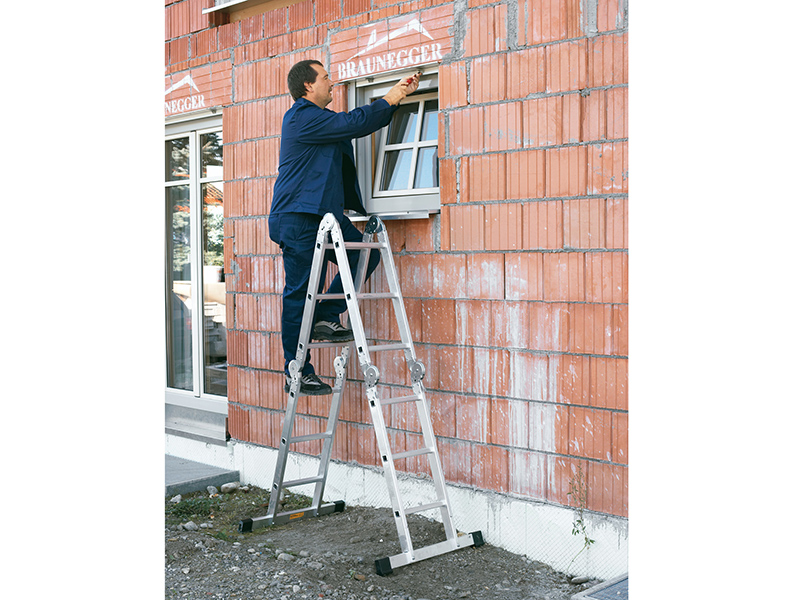 Thumbnail image of Zarges Multi-Purpose Ladder 2 x 3 & 2 x 5 Rungs