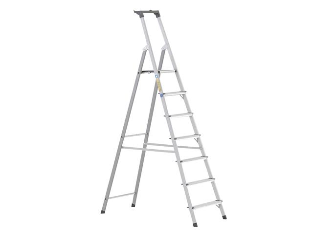Thumbnail image of Zarges Scana S Lightweight Platform Steps, Platform Height 1.47m 7 Rungs
