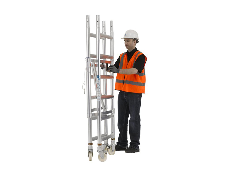 Thumbnail image of Zarges Reachmaster™ Tower Working Height 3.7m Platform Height 1.7m External Use